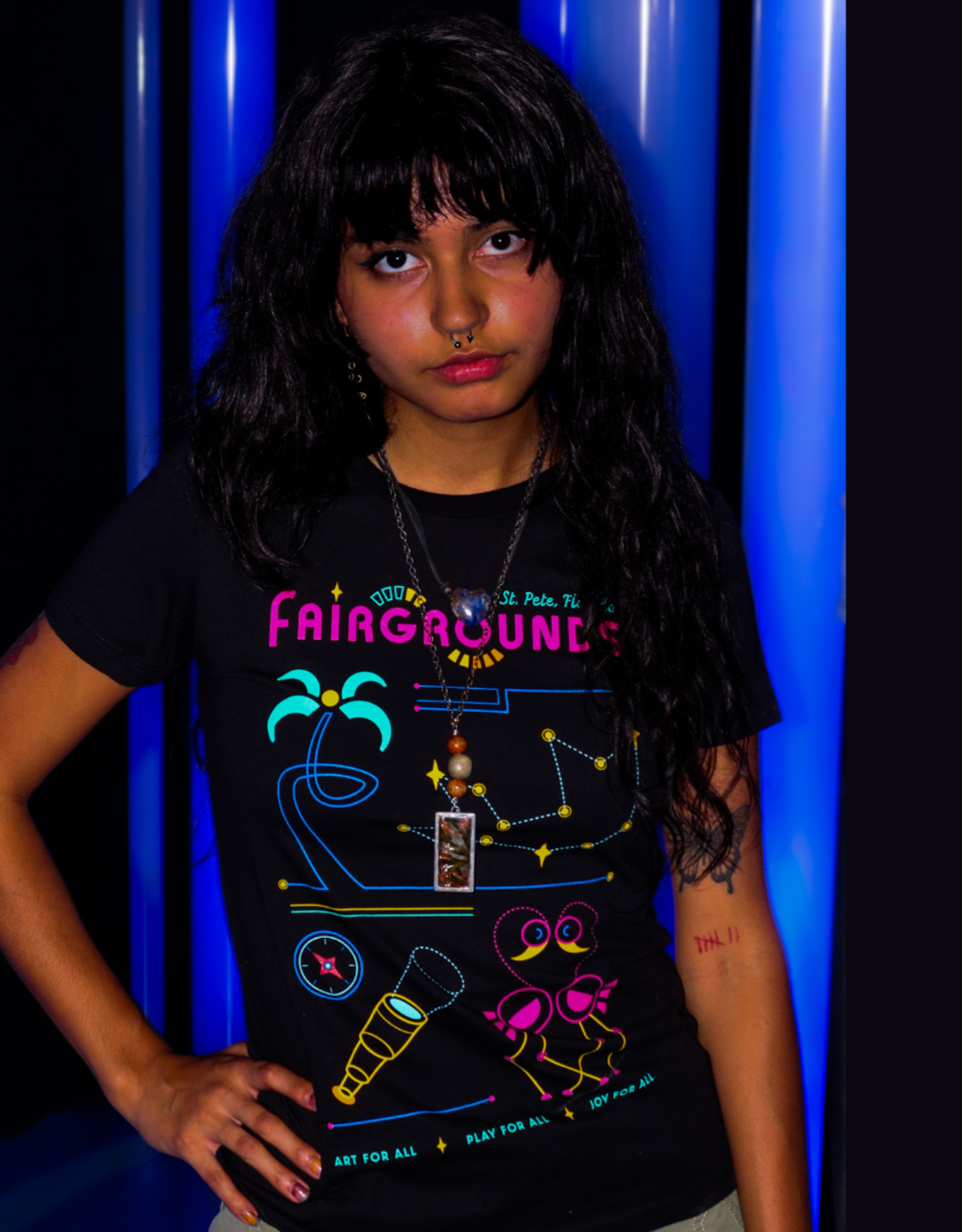 Fairgrounds St. Pete T-Shirt Fairgrounds Cast and Characters [FG]
