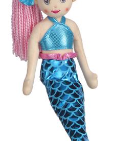 """Plush - Mermaid  Pink 18"""" - Rain"""