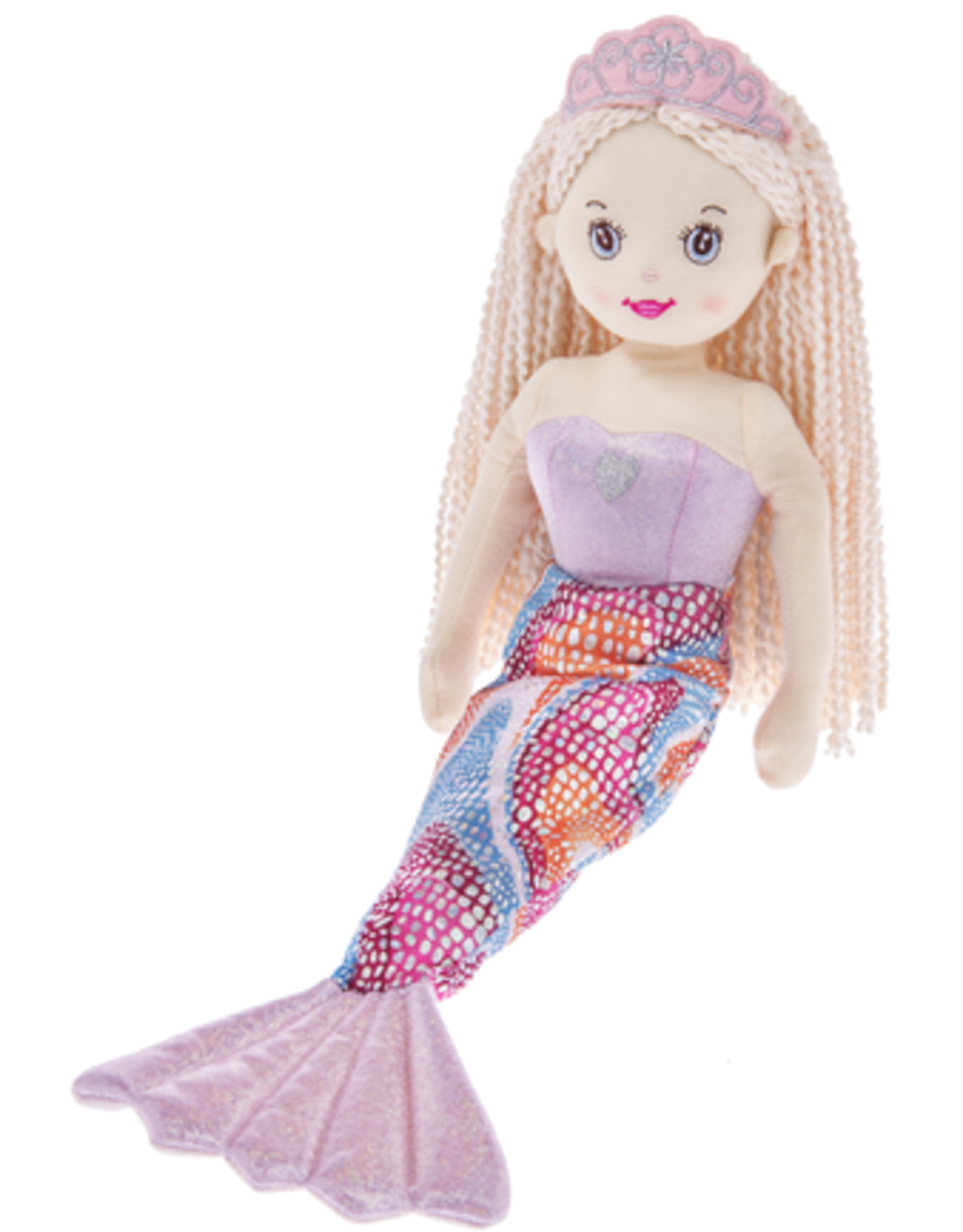 """Plush - Mermaid 18"""" - Shelly"""