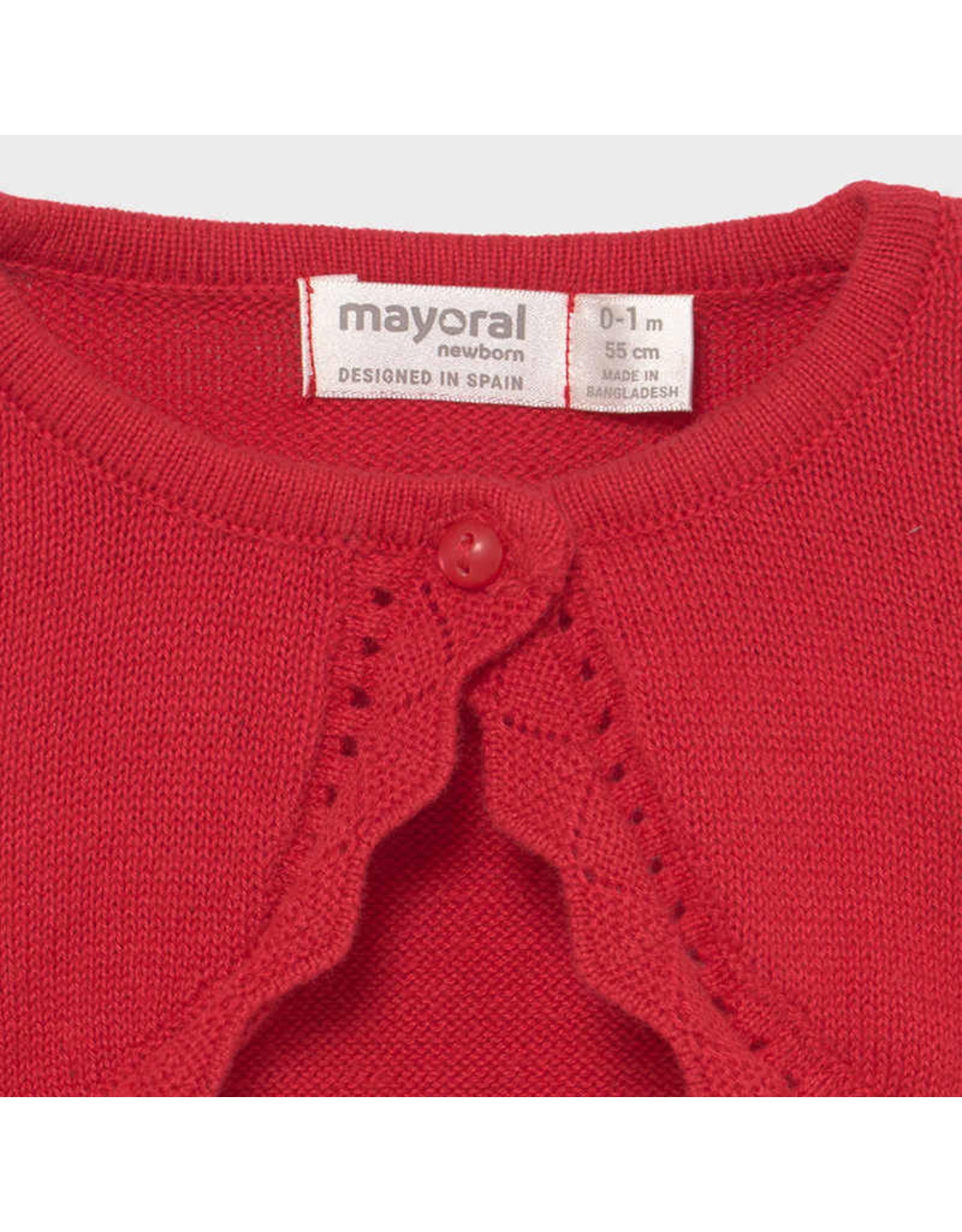 Mayoral Basic knit cardigan