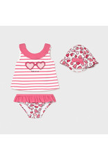 Mayoral Bathsuit set with hat