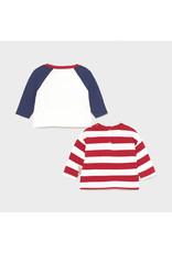 Mayoral 2 l/s t-shirts set