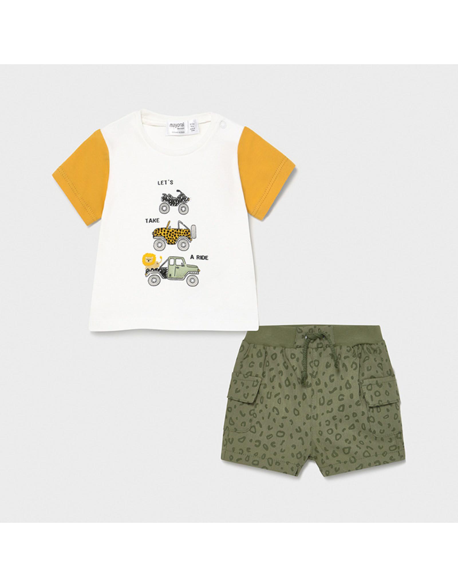 Mayoral Shorts and T-shirt Set