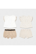 Mayoral 4 Pieces Knit Set - Mocha