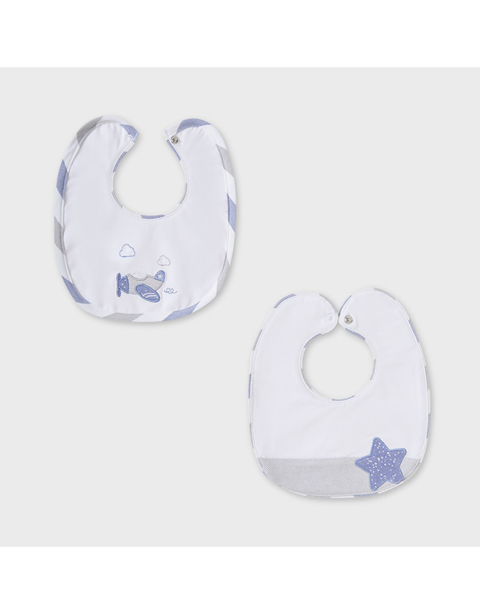 Mayoral 2 Bib Set - Lead