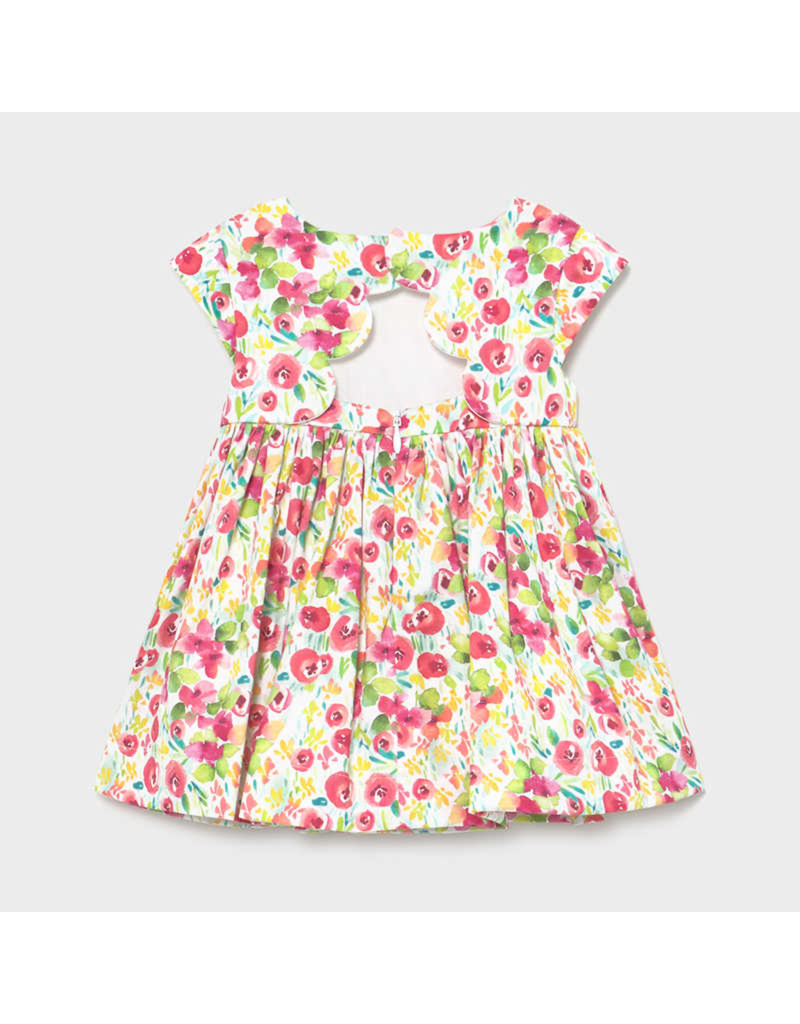 Mayoral Camellia Flower Dress