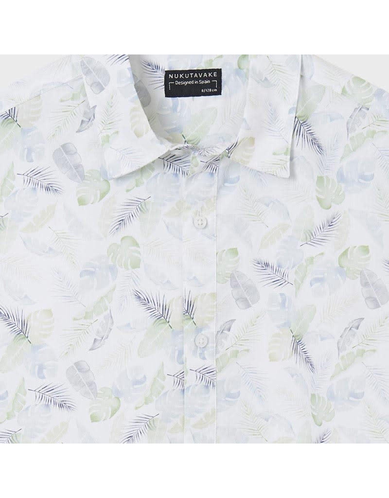 Mayoral Short Sleeve Button Shirt