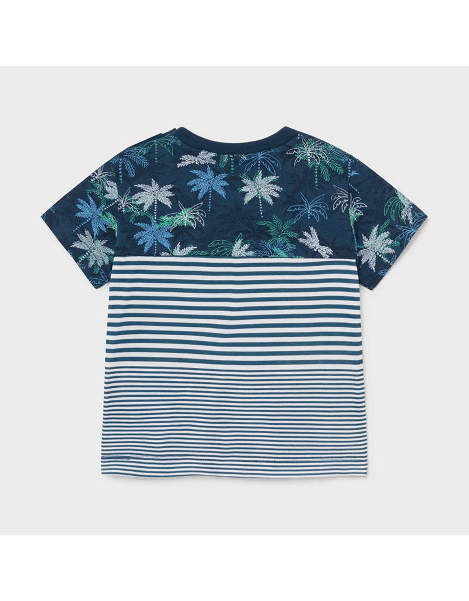 Mayoral Short Sleeve Blocks T-Shirt