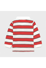 Mayoral Long Sleeve Stripes Polo