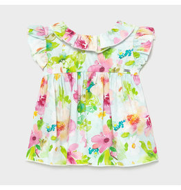 Mayoral Pistachio Flower Blouse