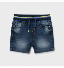 Mayoral Soft Denim Shorts - Medium Wash