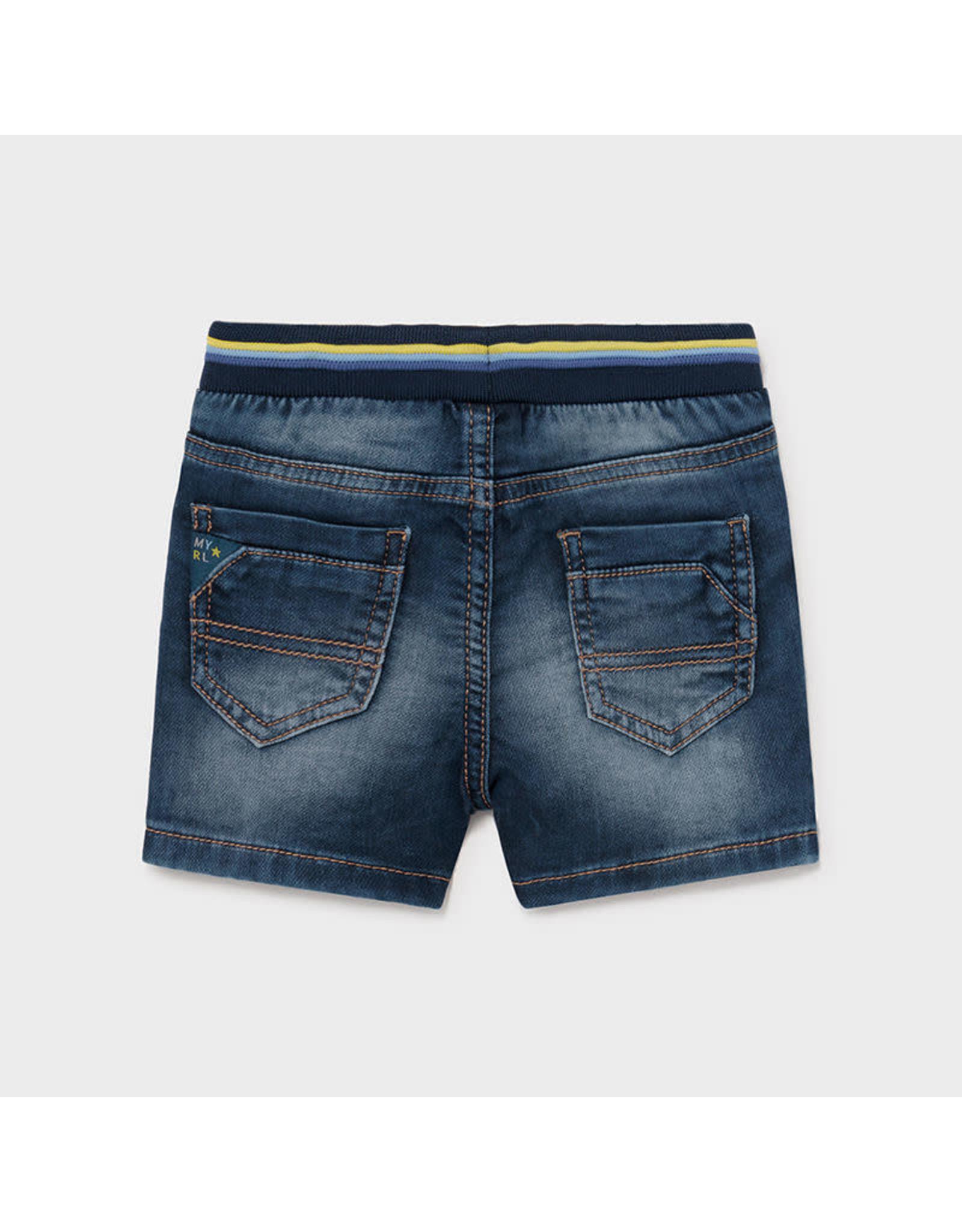 Mayoral Soft Denim Shorts - Medium Wash