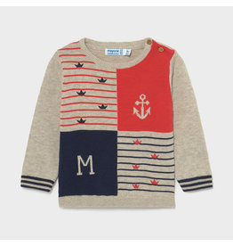Mayoral Patched Sweater