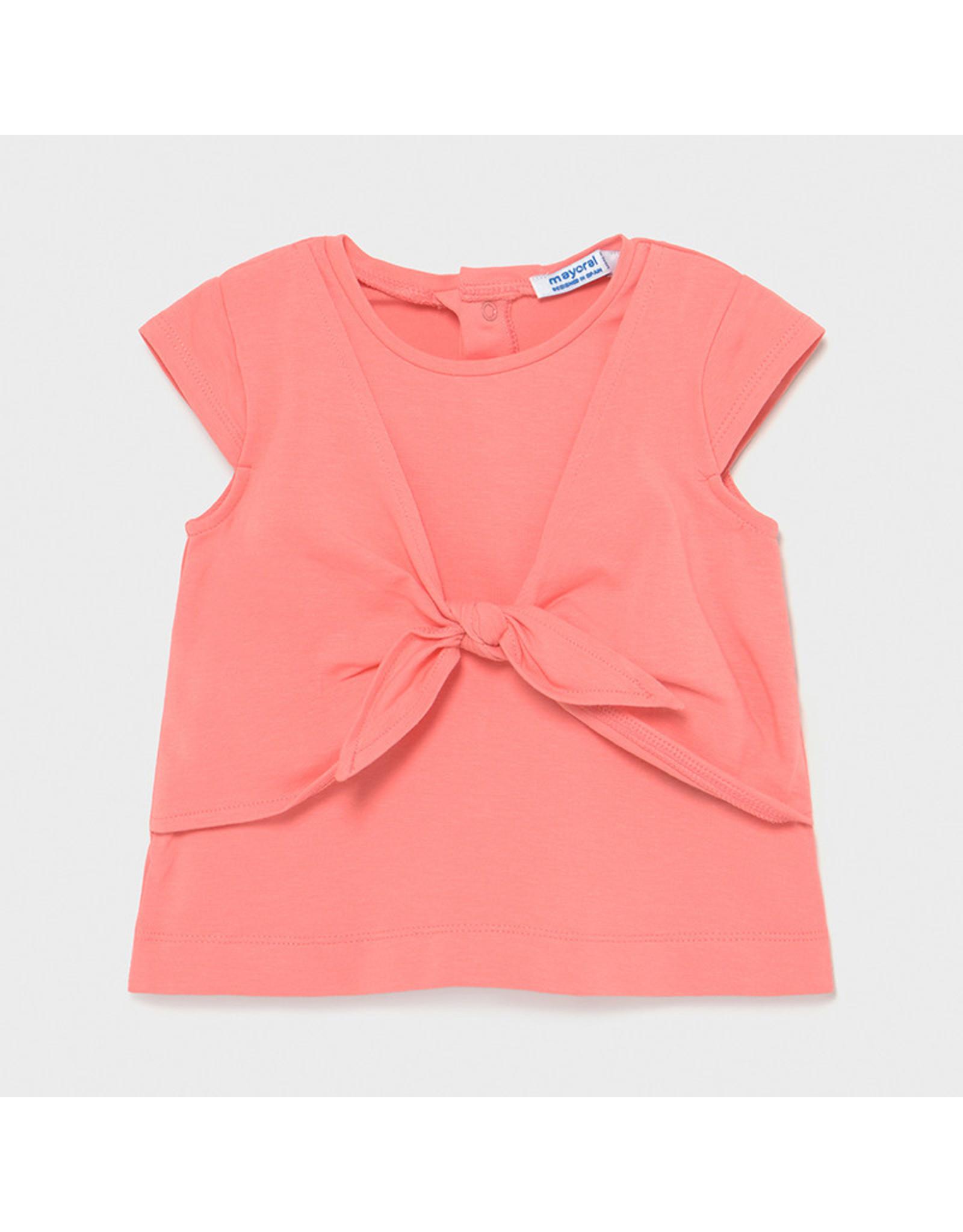 Mayoral Girls Short Sleeve T-Shirt