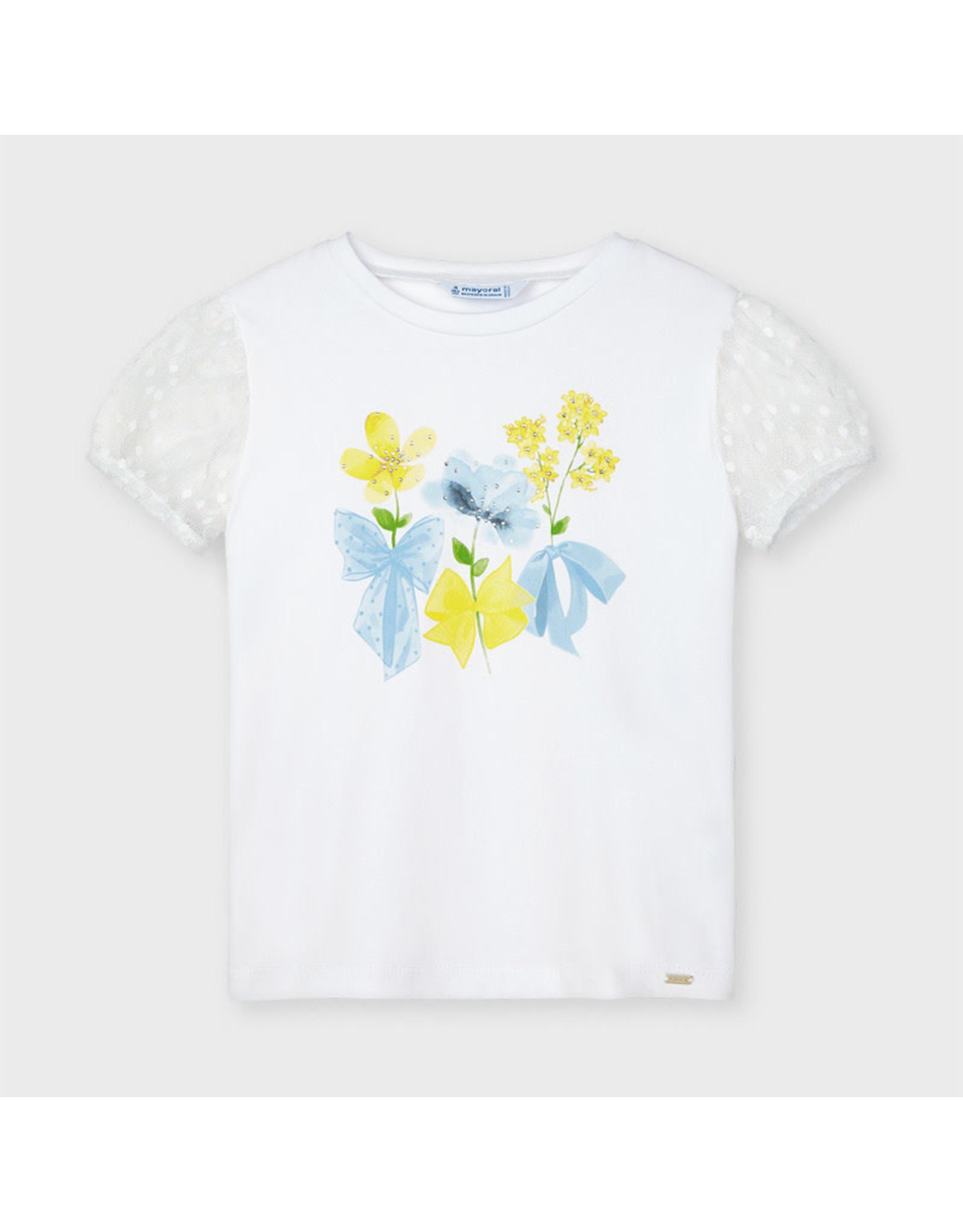 Mayoral Plumeti Sleeve T-shirt