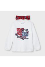 """Mayoral """"Good Things Take Time"""" T-Shirt"""