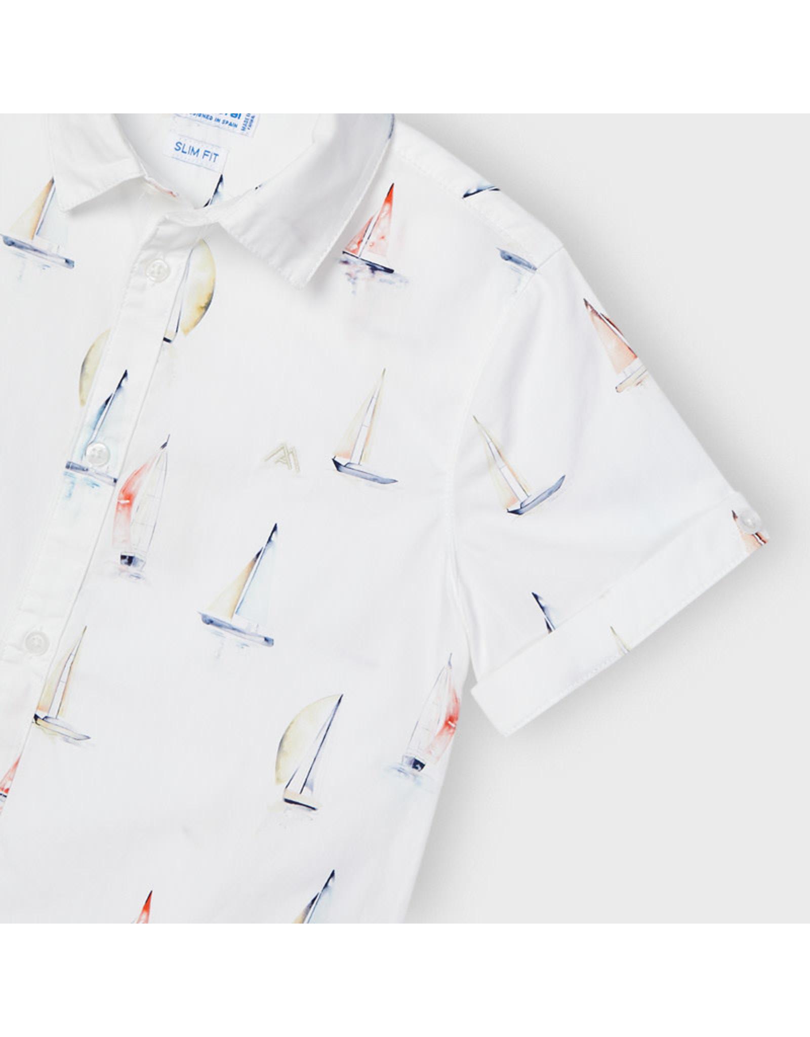 Mayoral Short Sleeve Ships Shirt