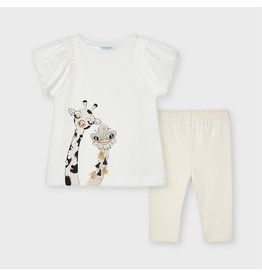 Mayoral Giraffe Legging Set