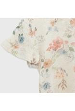 Mayoral Patterned Linen Short Sleeve Shirt
