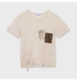 Mayoral T-Shirt with Sequin Pocket