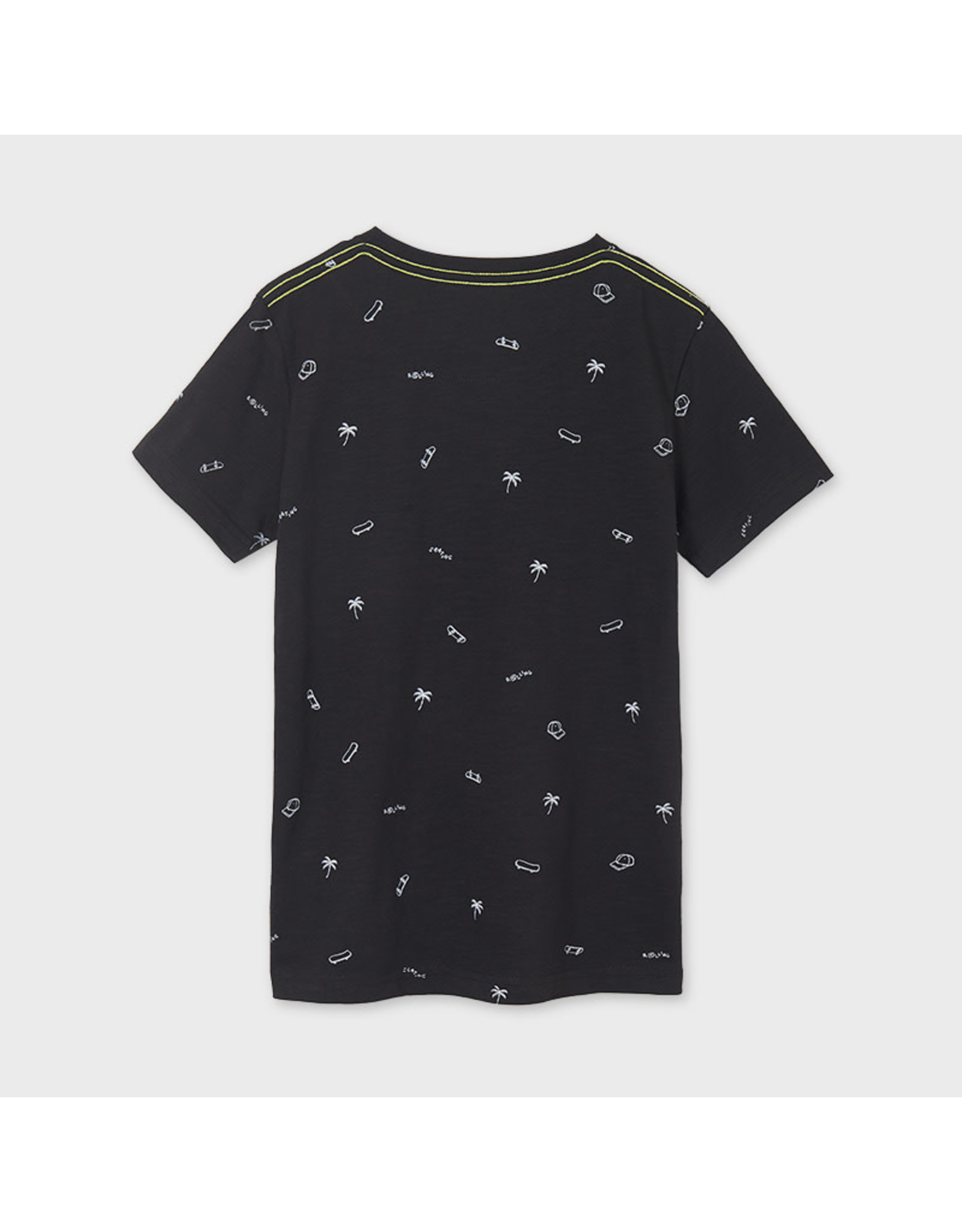 Mayoral Vynil Printed Short Sleeve T-Shirt