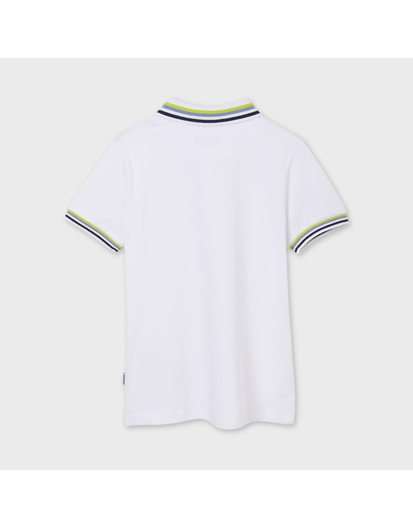 Mayoral Short Sleeve Semi Basic Polo