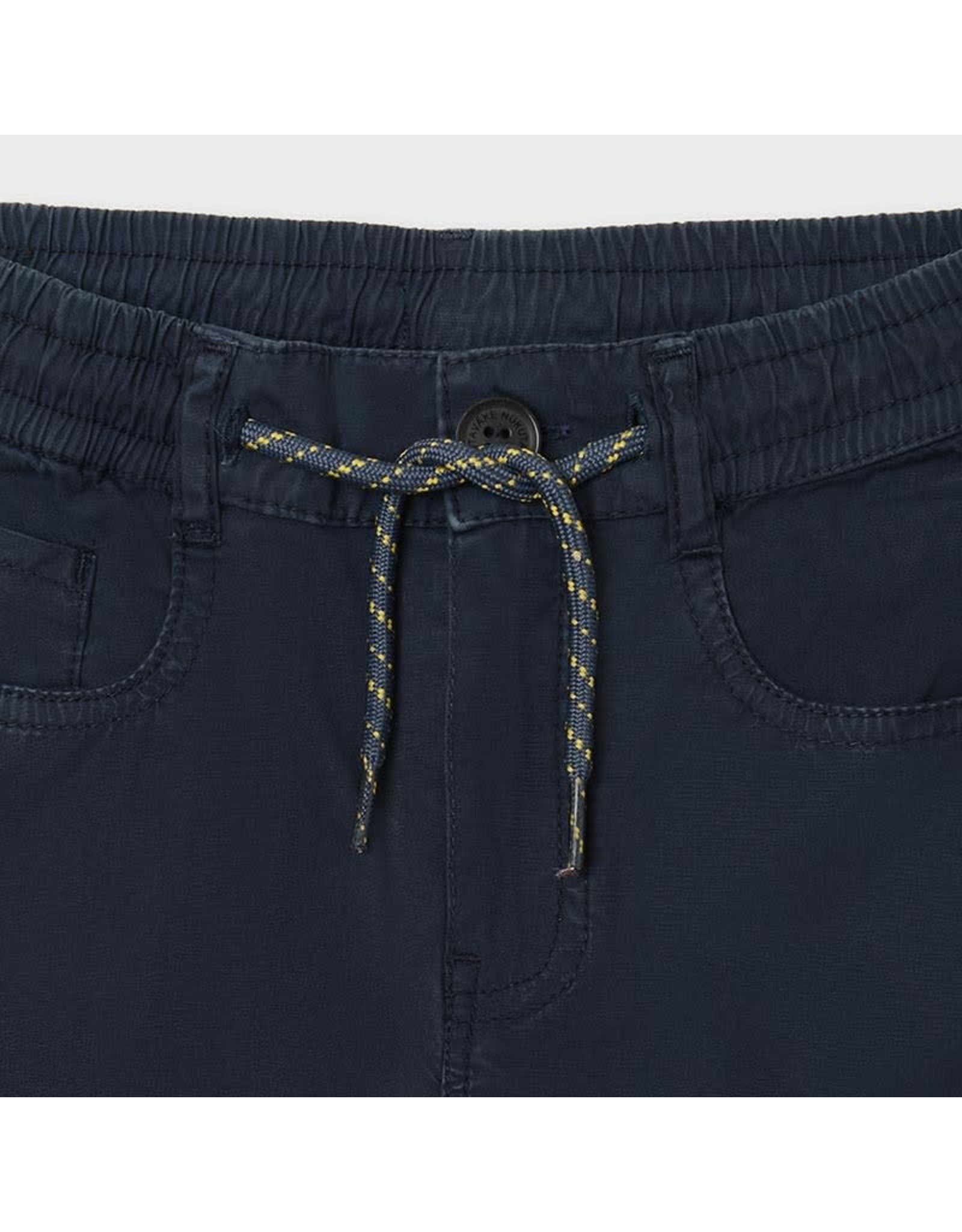 Mayoral Pant with Elastic Lace