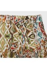 Mayoral Patterned Pant Skirt