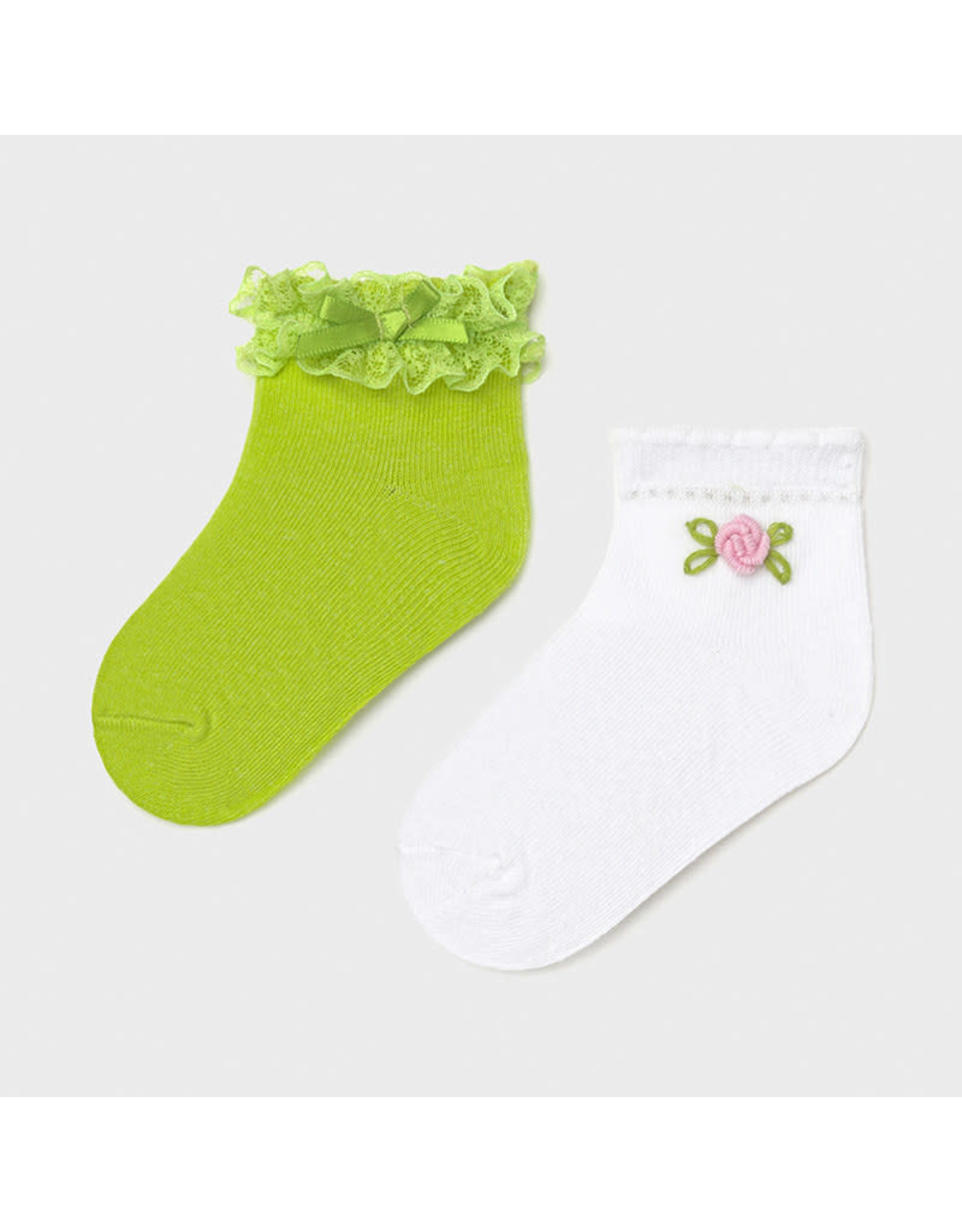 Mayoral 2 Socks Set - Pistachio