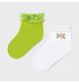 Mayoral 2 Socks Set - Pistachio (6M-24M)