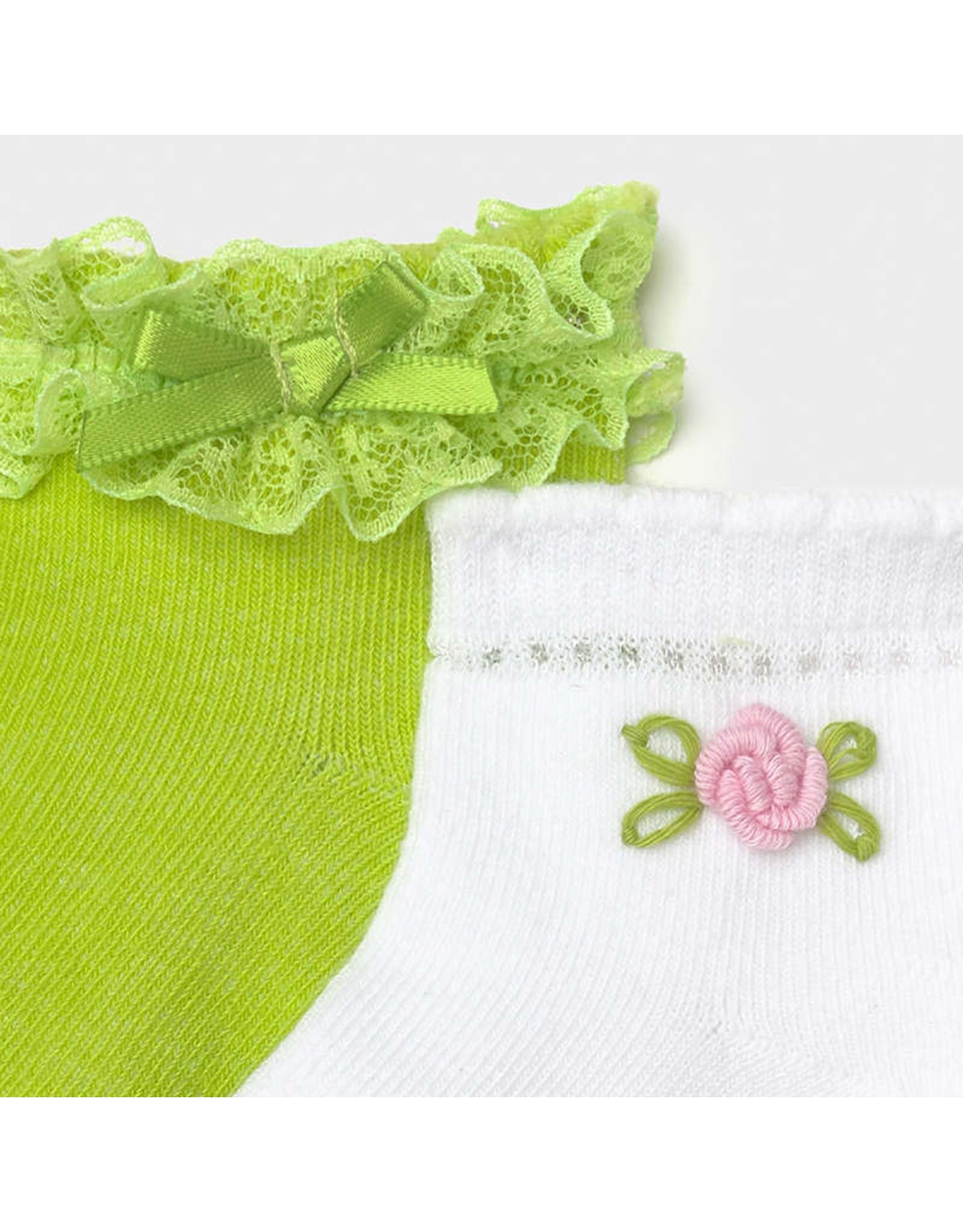 Mayoral 2 Socks Set - Pistachio