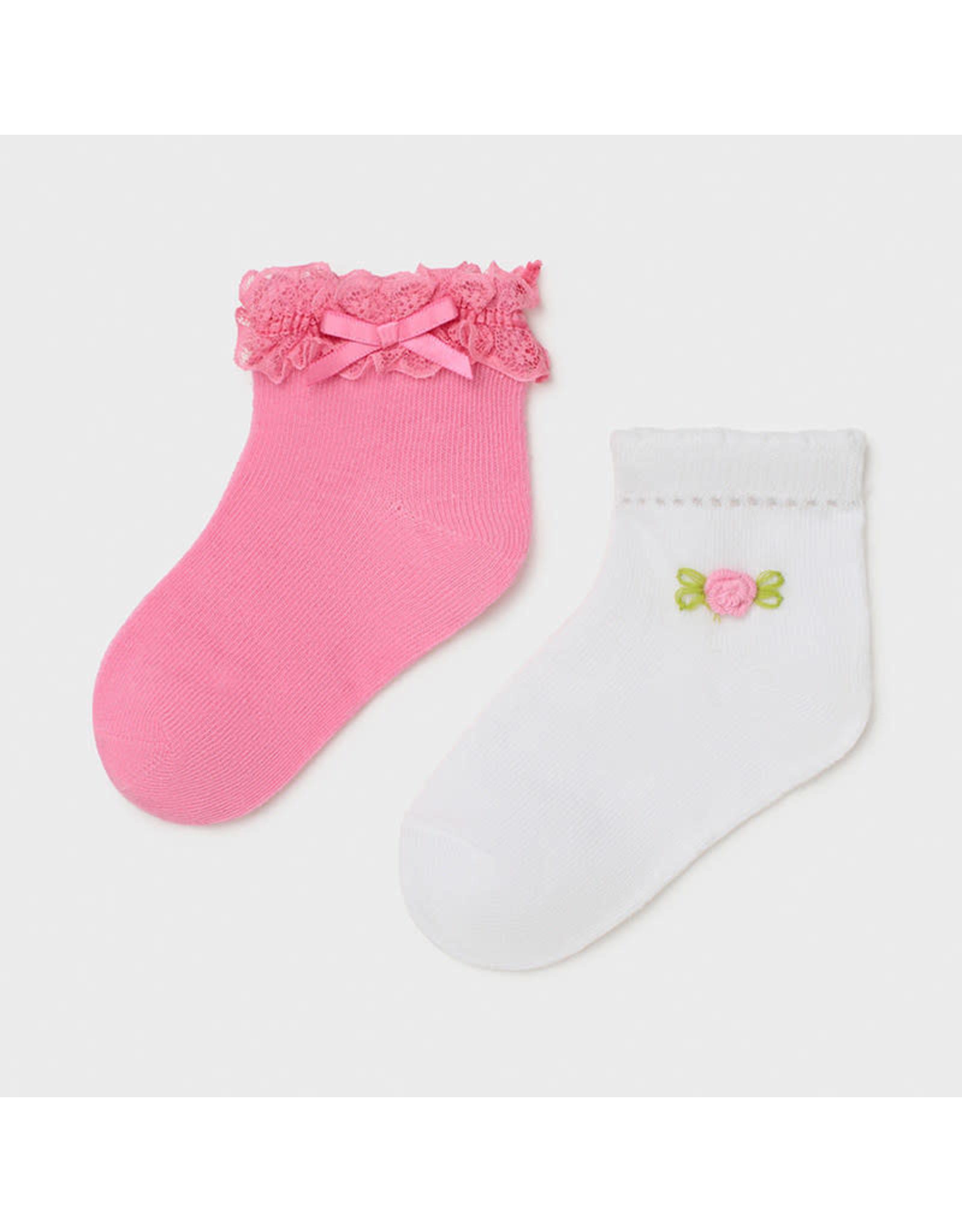 Mayoral 2 Socks Set - Cameillia