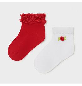 Mayoral 2 Socks Set - Poppy (6M-24M)