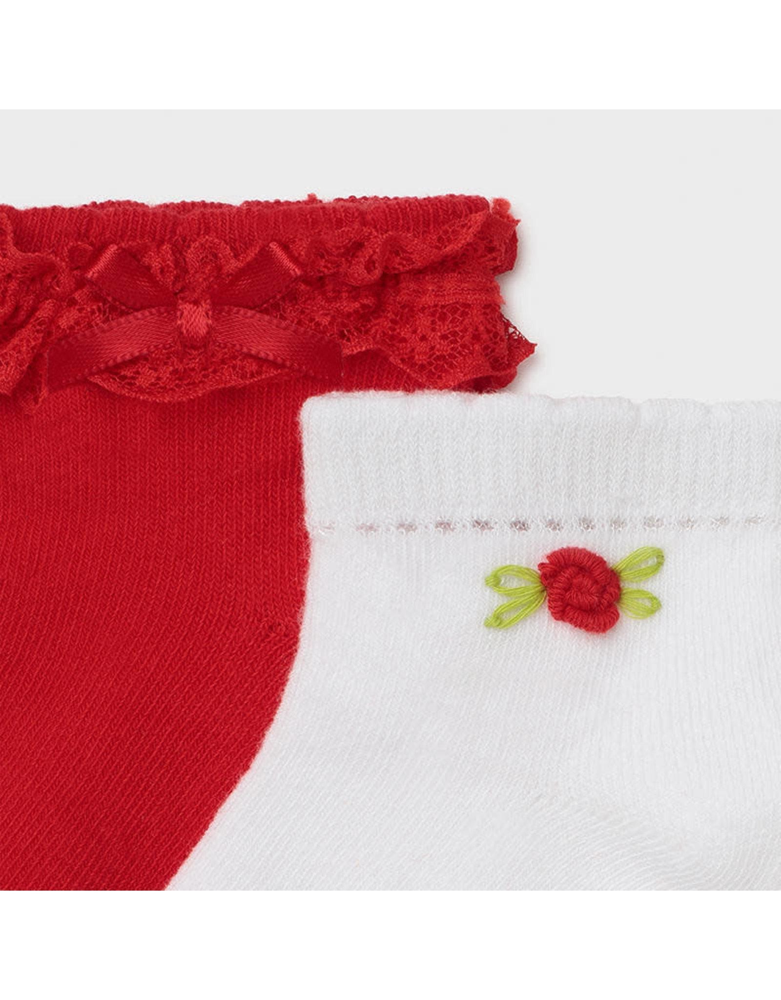 Mayoral 2 Socks Set - Poppy