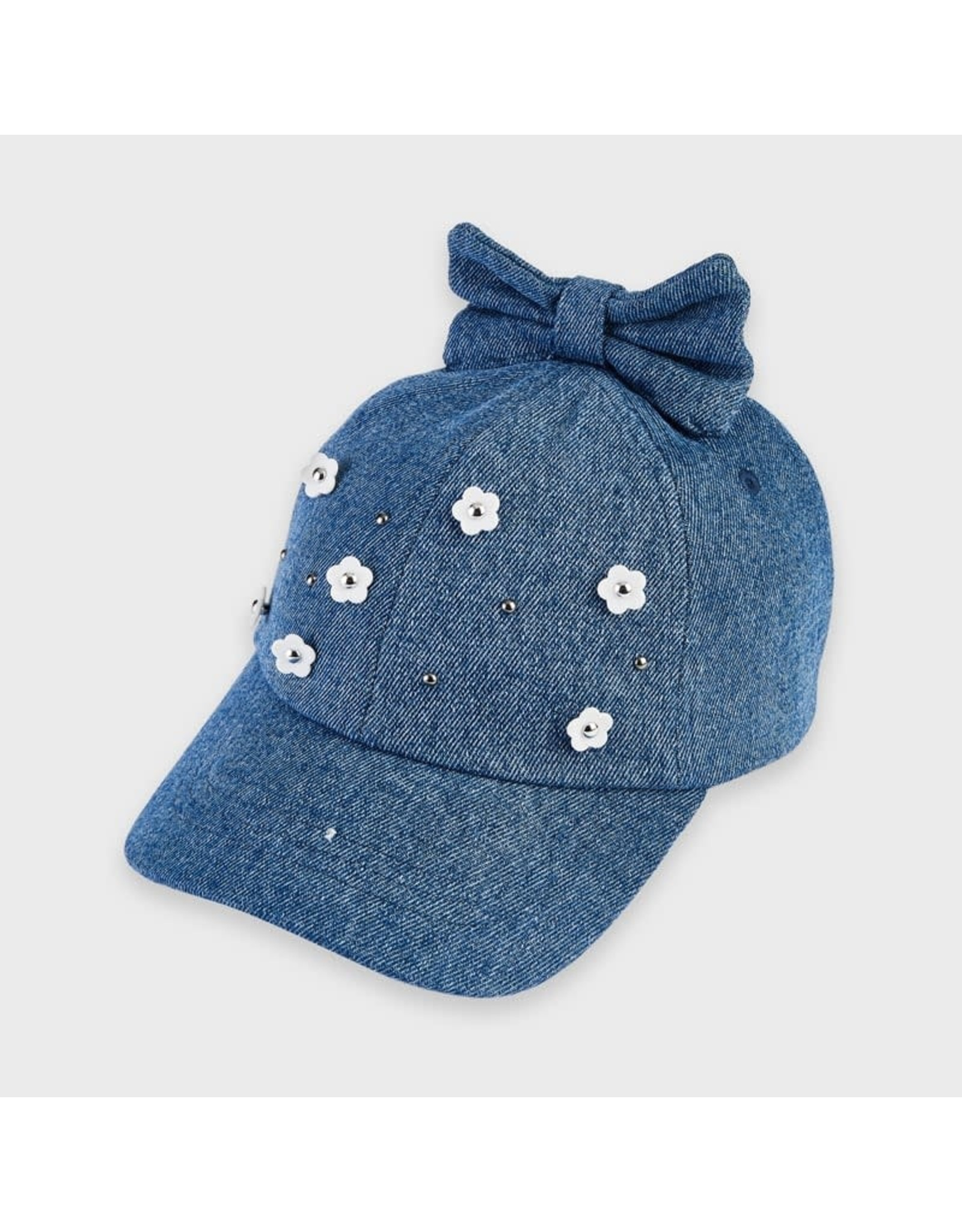 Mayoral Hat with Floral Aplique