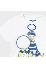 """Mayoral Short Sleeve T-shirt """"play"""" """"dogs"""""""