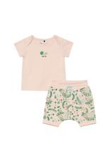 Deux Par Deux Top and Short Set Organic Cotton - Multicolor