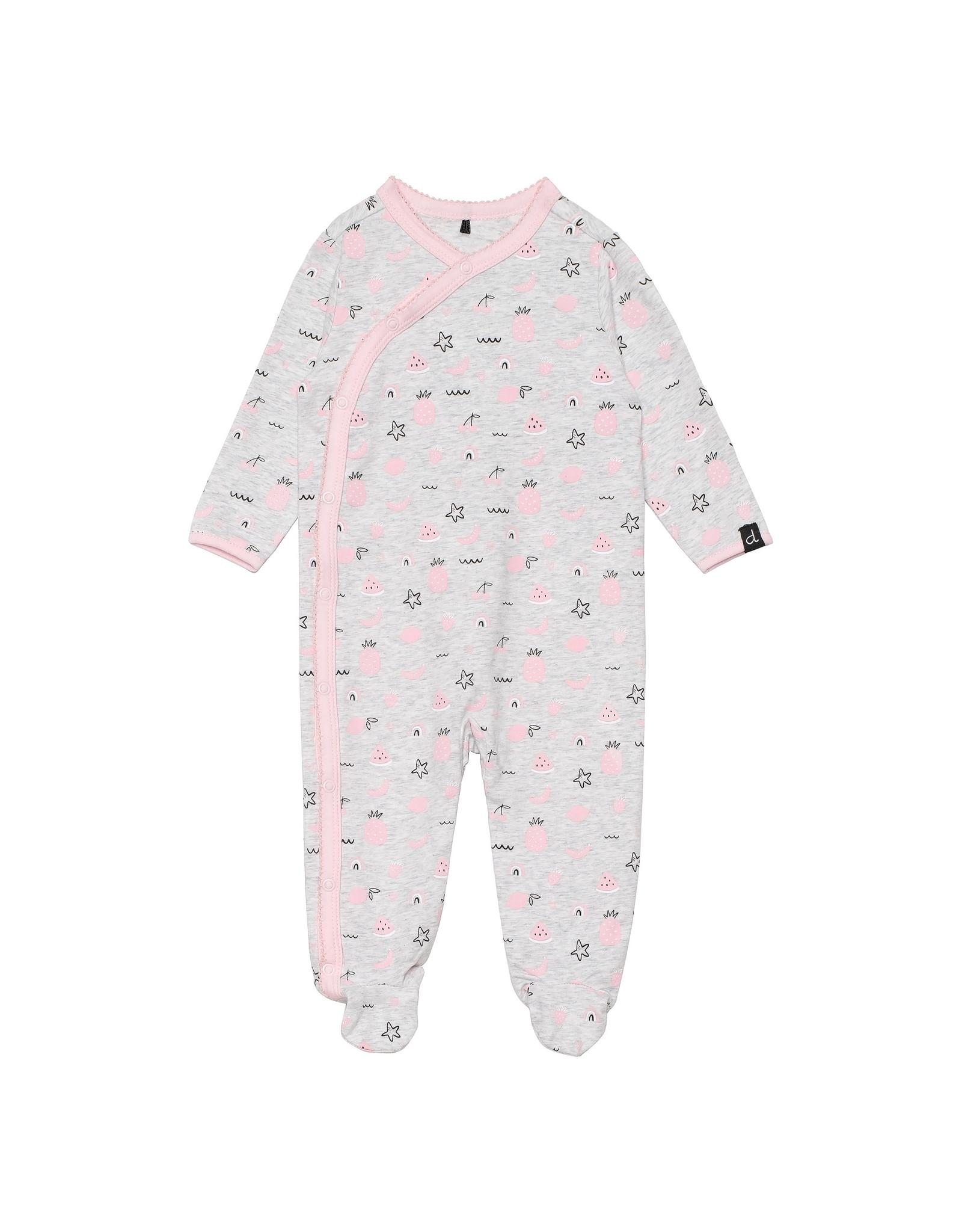 Deux Par Deux Printed Pajamas - Fruit