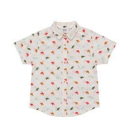 Deux Par Deux Printed Shirt - Multicolor