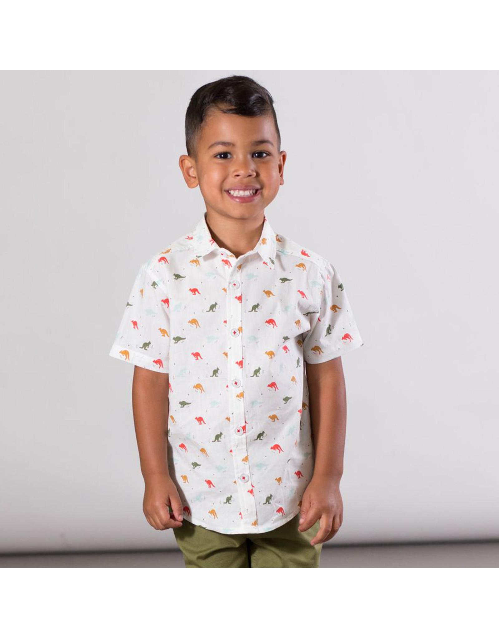 Deux Par Deux Printed Shirt - Multicolor