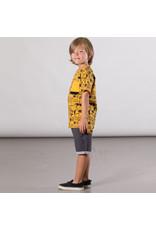 Deux Par Deux Jersey T-Shirt with Pocket and Print - Jungle