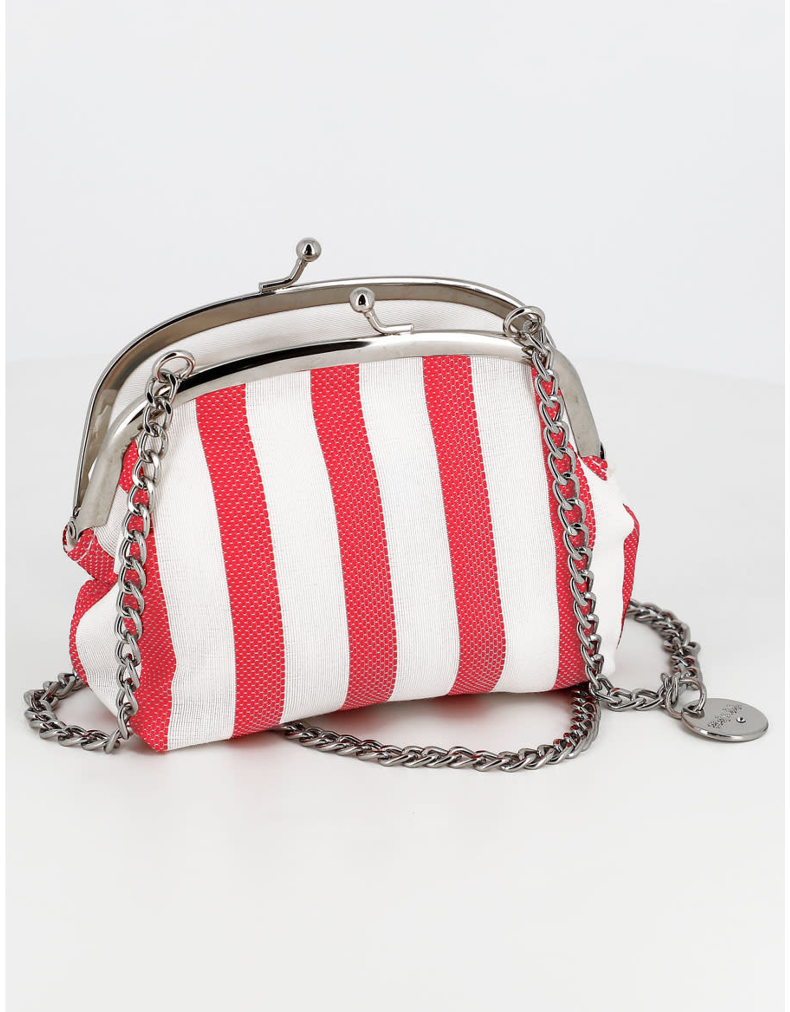 Abel & Lula Stripped Coin Bag