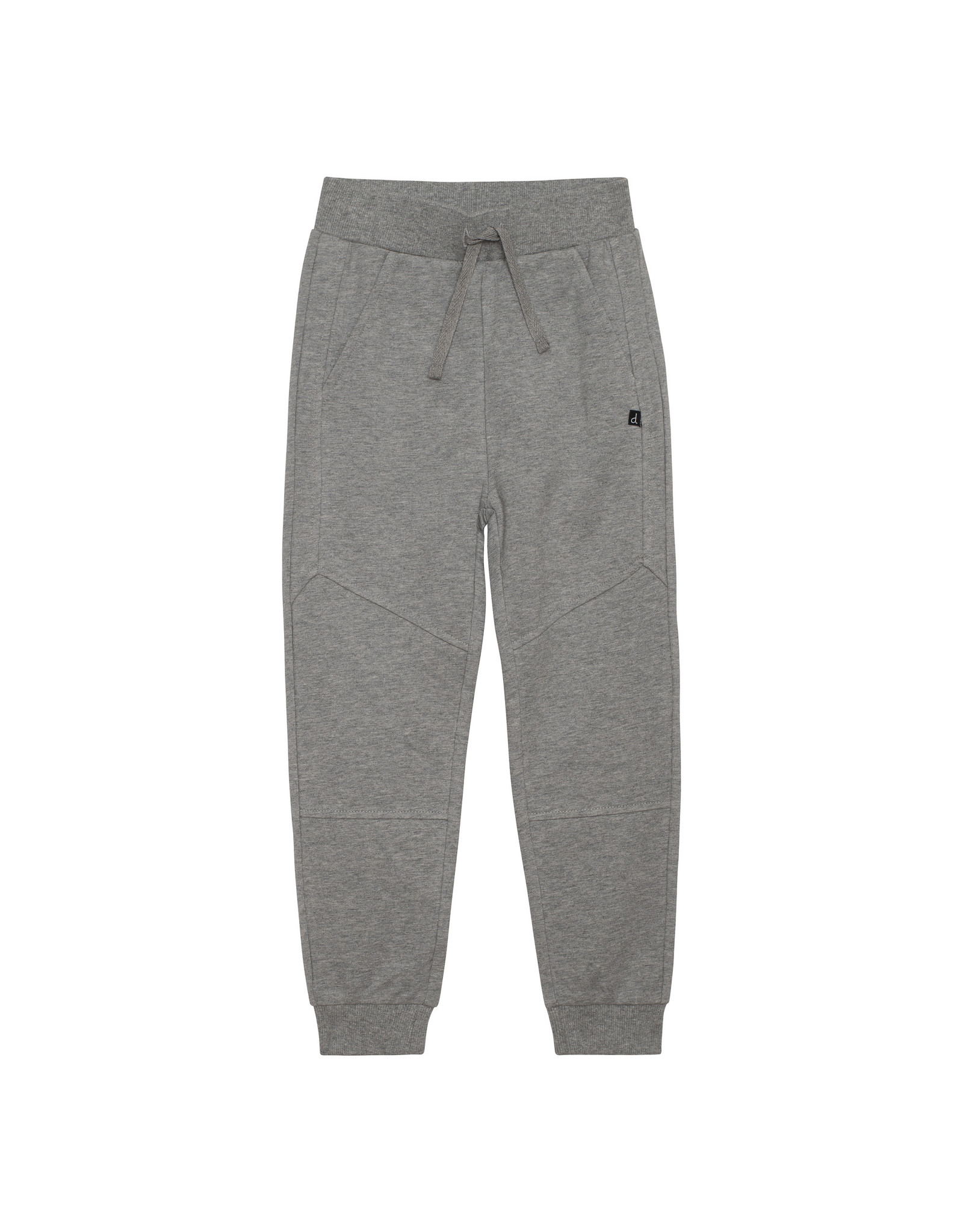 Deux Par Deux French Terry Sweatpants - Light Grey