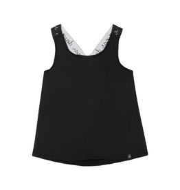 Deux Par Deux Jersey Tank Top with Elastic