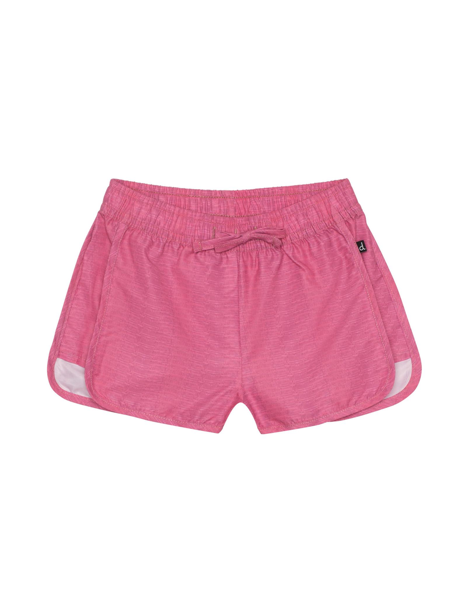Deux Par Deux Beach Dolphin Short - Pink