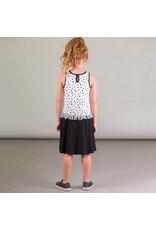 Deux Par Deux Printed Dress with Fringes Detail