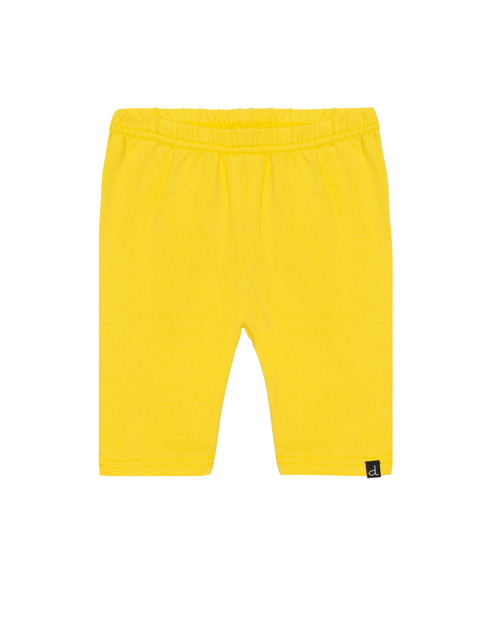 Deux Par Deux Biker Short Organic Cotton - Yellow