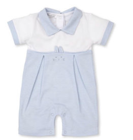 Kissy Kissy Bunny Hugs Short Playsuit - Blue