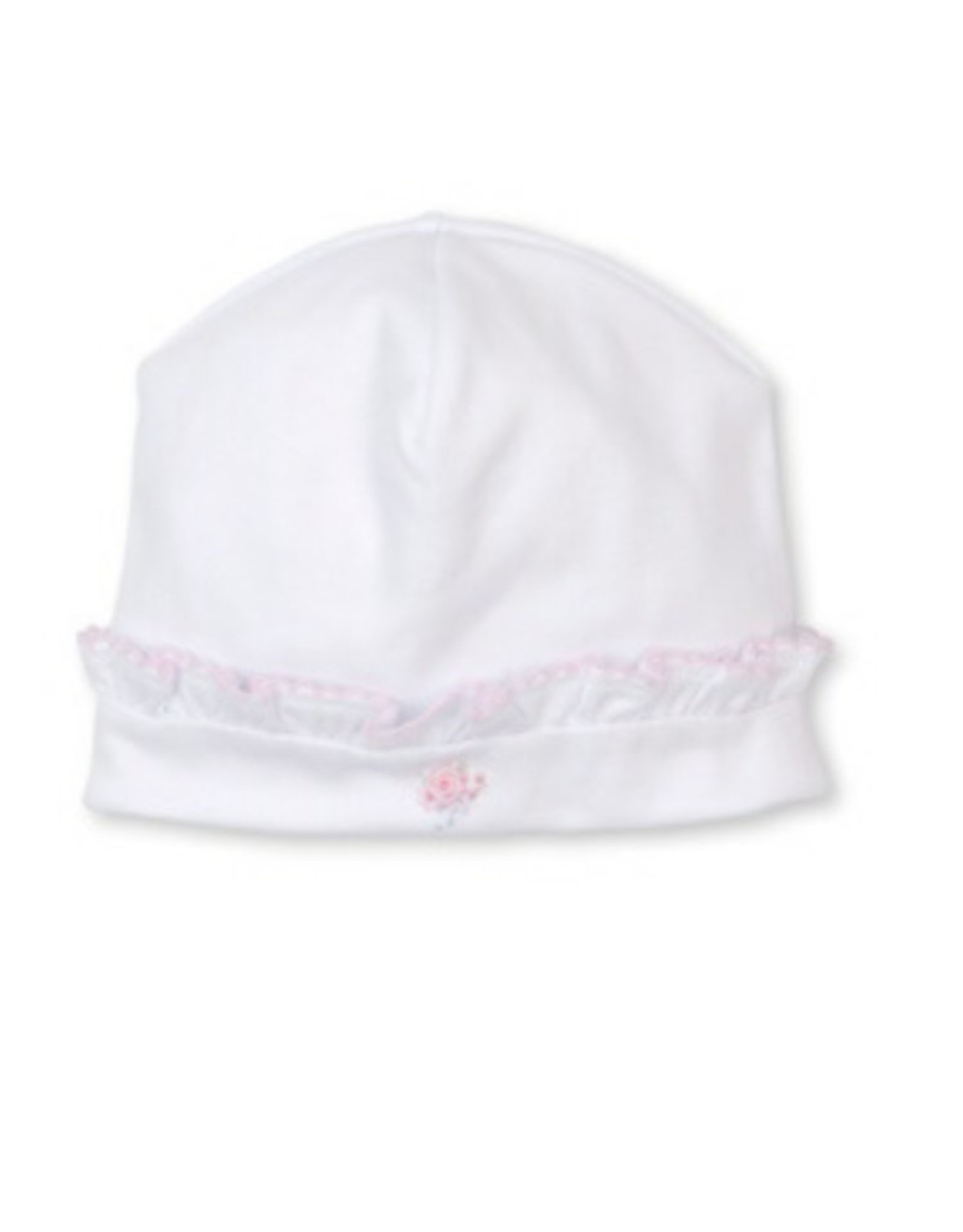 Kissy Kissy Ribbon Roses Hand Emrboidered Hat