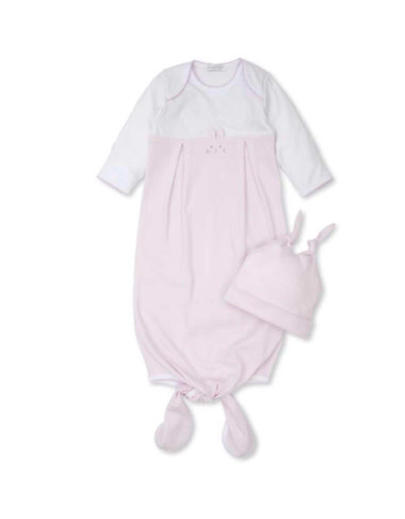 Kissy Kissy Bunny Hugs Sack & Hat Set - Pink